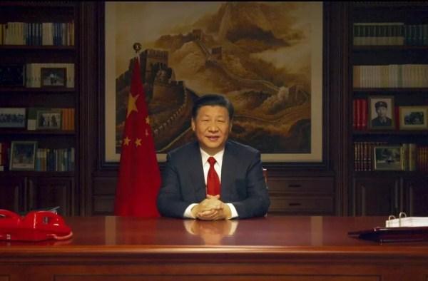 国家主席习近平发表二〇一八年新年贺词(中易科技)
