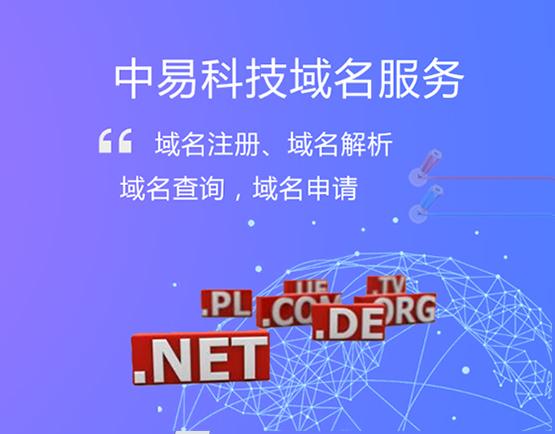title='中易科技域名服务'